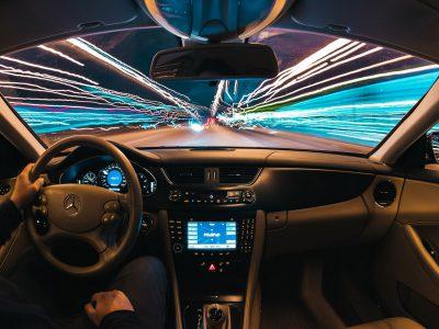 Carbon Fibre Car Interior