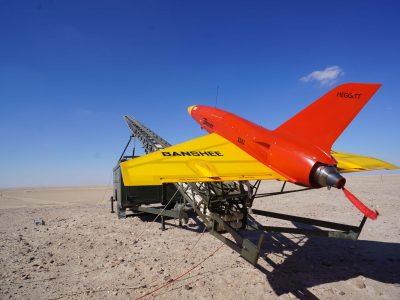 Carbon Fibre Meggitt Banshee Launch Pad