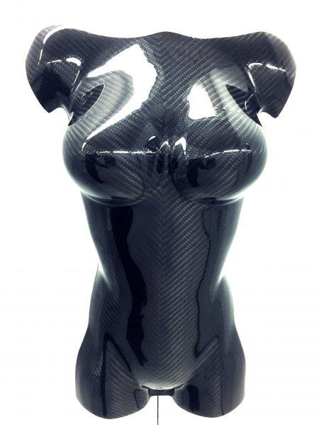 Carbon Fibre Female Torso