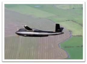 Carbon fibre Target Drone